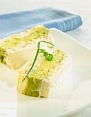 cod cake with avocado