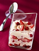 tiramisu with mara des bois strawberries (topic: summer fruit)