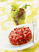 beef and ginger tartare (topic: beef)