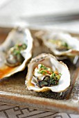 Asian style oysters
