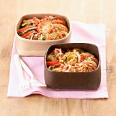 browned tomato and onions and courgette bake (topic: bakes)