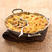 chicken and tarragon parmentier