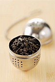 Tea ball full of tea