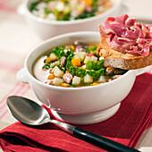 Corsican soup