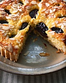 Prune and Almond tart
