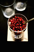 Pomegranate verrine