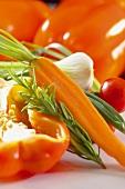 Vegetables for cretan diet