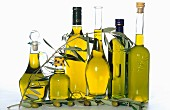 Selection of olive oils