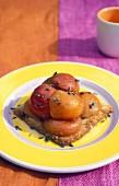 Provençal apricot tart with lavender