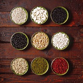 Dry shell beans and lentils