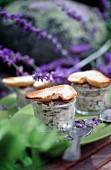 Sardinen-Rillettes mit Veilchen als Vorspeise fürs Picknick