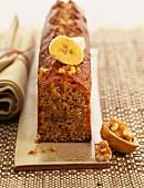 Banana and ginseng cake