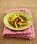 Foie Gras mit Ingwer und Mango