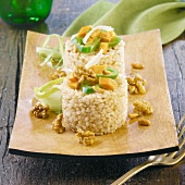 rice with walnuts