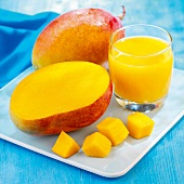 Mango and mango juice