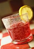 Glass of aperitif