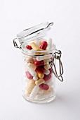 Jar of capsules