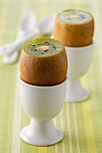 Kiwis in eggcups