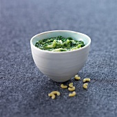 Spinach and ricotta sauce