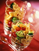 Pasta salad with paprika