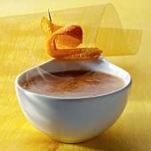 Warm orange sauce