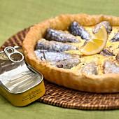 Sardine quiche