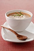 Sweet potato soup with spices