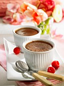 Fondants au chocolat (rich chocolate cakes)