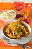 Chicken curry madras