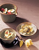 Magnolia Tea & Mushroom Rice Balls