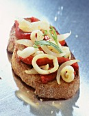 Crostino mit Calamari