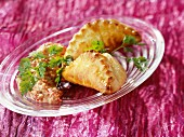 Minced meat and onion pasties