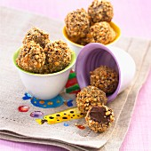 Crispy chocolate balls