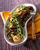 Gegrilltes Gemüse mit Quinoa