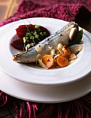 Spicy mackerel