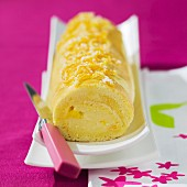 Bras de Vénus (Swiss roll with buttercream, Pyrenes)