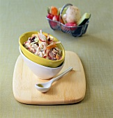 Grated vegetable salad