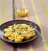 Potato and onion salad