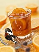 Orange and earl grey tea jam