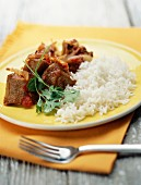 veal sauté with ginger and coriander
