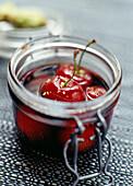 Cherries in sherry