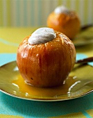 Oven-baked Reinette apples