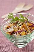 Mango and crab fresh salad