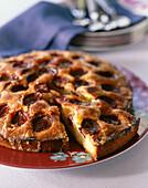 Caramelized cake