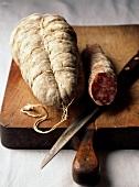 Rosette de Lyon and Jesus ,dried sausages