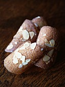 Almond Tuile biscuits
