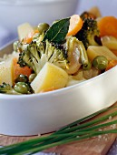 Spring vegetable tajine