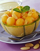 Melon fruit salad