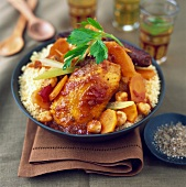 Chicken and Merguez Couscous