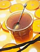 Pineapple and orange marmelade